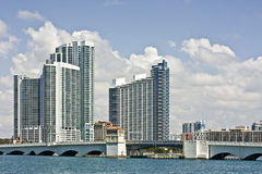 Miami Florida architecture Royalty Free Stock Photos