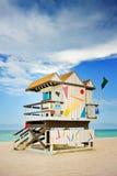 Miami Florida beach rescue Stock Photography