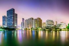 Miami Florida Cityscape Royalty Free Stock Photography