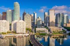 Miami Florida Cityscape Stock Photo