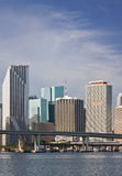 Miami Florida downtown buildings Stock Photo