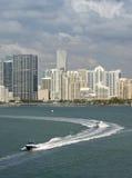 Miami Florida, downtown buildings Stock Photos