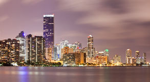 Miami Florida downtown buildings Stock Photos