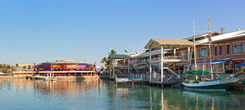 Het park van Miami Florida Bayside Royalty-vrije Stock Foto's