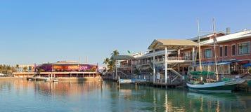 Miami Floryda Bayside park Zdjęcia Royalty Free