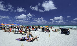 Miami,Florida 2014-Spring Break Royalty Free Stock Images