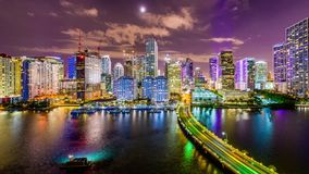 Miami, Florida, USA stock video footage