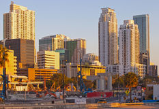 City of Miami Florida construction Royalty Free Stock Photography