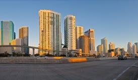 City of Miami Florida construction Stock Photo
