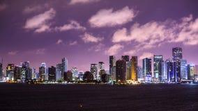 Miami, Florida. USA motion time lapse stock video footage