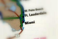 Miami, Florida - Verenigde Staten Stock Foto's