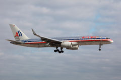 American Airlines Boeing 757-200 Obraz Royalty Free