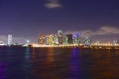 Miami, Floryda Styczeń 08, 2016: - usa - Budynków drapacze chmur M Zdjęcia Stock