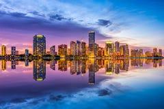 Miami florydy usa Obrazy Royalty Free