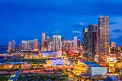 Miami florydy usa Obraz Royalty Free