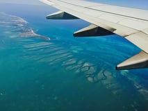 Miami flyg Royaltyfria Foton