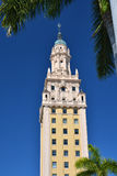 Miami freedom tower. Freedom tower in Miami Downtwn Stock Photography