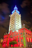 Miami Freedoom tower is famous city landmark used as a contemporary arts museum Stock Photo