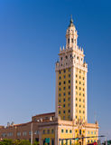 Miami-Freiheits-Kontrollturm Lizenzfreies Stockbild