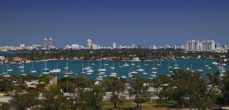 Miami-Hafen/Jachthafen Lizenzfreies Stockbild