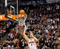 Miami Heat vs. Toronto Raptors Royalty Free Stock Photography