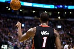 Miami Heat vs. Toronto Raptors Stock Photo