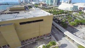 Miami Herald-Gebäudezerstörung 4 stock footage