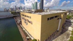 Miami Herald-Gebäudezerstörung 5 stock footage