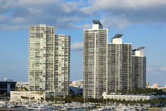 Miami High Rises Royalty Free Stock Image
