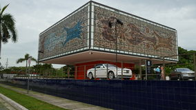 Miami historic architecture stock footage