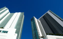 Miami-hohes Anstieg-Gebäude Stockbilder