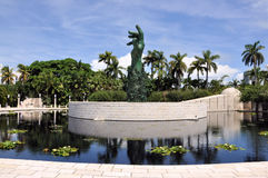 Miami Holocaust Memorial Royalty Free Stock Image