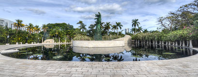 Miami Holocaust Memorial Stock Photo