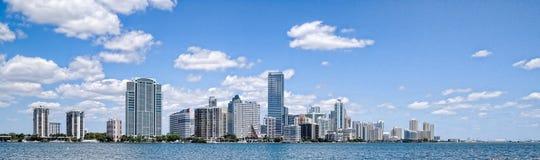 Miami horisont Arkivbilder