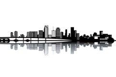 Miami horisont Arkivfoton