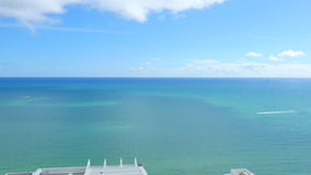 Miami hotel room interior stock footage