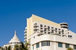 Miami-Hotelarchitektur Stockbilder