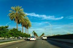 Miami huvudväg fotografering för bildbyråer