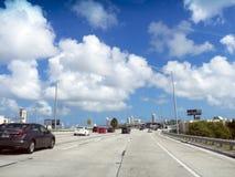 Miami huvudväg Royaltyfria Foton