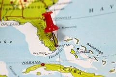 Miami i Florida, USA Royaltyfria Foton
