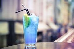 Miami ice tea. Miami Beach Iced Tea on the terrace Stock Photography