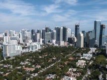 Miami im Stadtzentrum gelegen Stockbilder