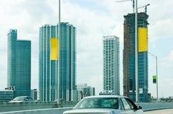 Miami im Stadtzentrum gelegen, Florida stockfotos
