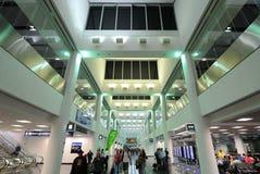 Miami International Airport. Modern architectural terminal in Miami International Airport in Miami, Florida Royalty Free Stock Images