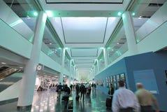 Miami International Airport. Modern architectural terminal in Miami International Airport in Miami, Florida Royalty Free Stock Photos