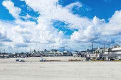 Miami international Airport Stock Images