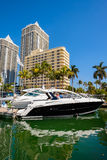 Miami International Boat Show Royalty Free Stock Images