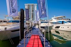 Miami International Boat Show Stock Photography