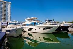 Miami International Boat Show Royalty Free Stock Photos