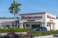 Walgreens Retail Location. Walgreens is an American Pharmaceutical Company IX royalty free stock photos